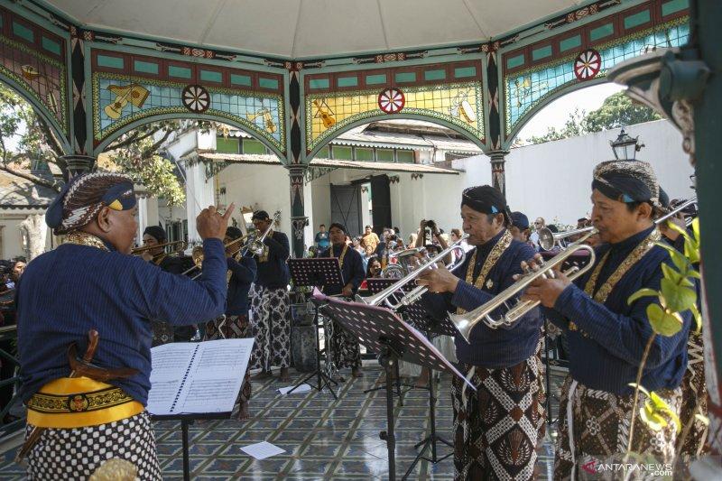 Pentas Musikan Mandalasana Keraton Yogyakarta