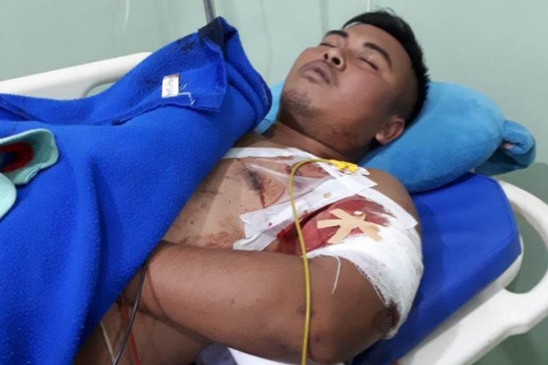 Jenazah Pratu Sirwandi dievakuasi ke kampung halamannya