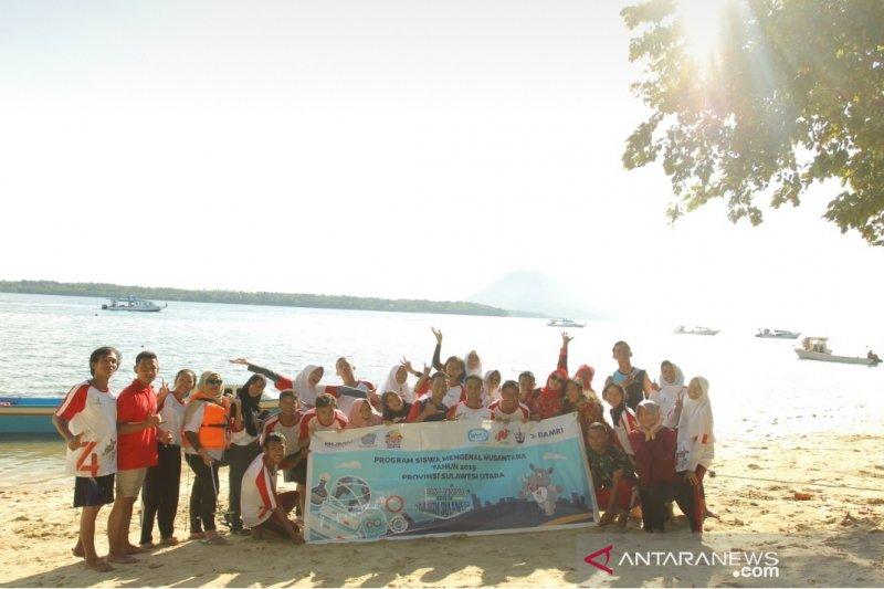 SMN 2019 Kunjungi Taman Laut Bunaken Foto Page 6