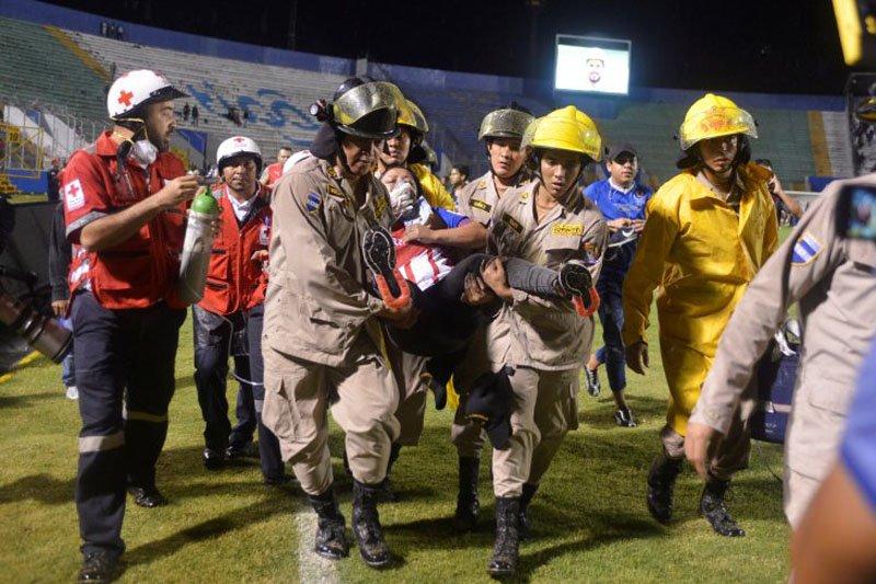Kerusuhan laga Olimpia vs Motagua, tiga tewas