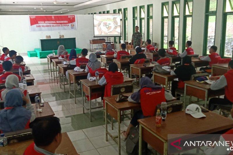 Di Rindam Cenderawasih peserta SMN Sulsel dibekali wawasan kebangsaan
