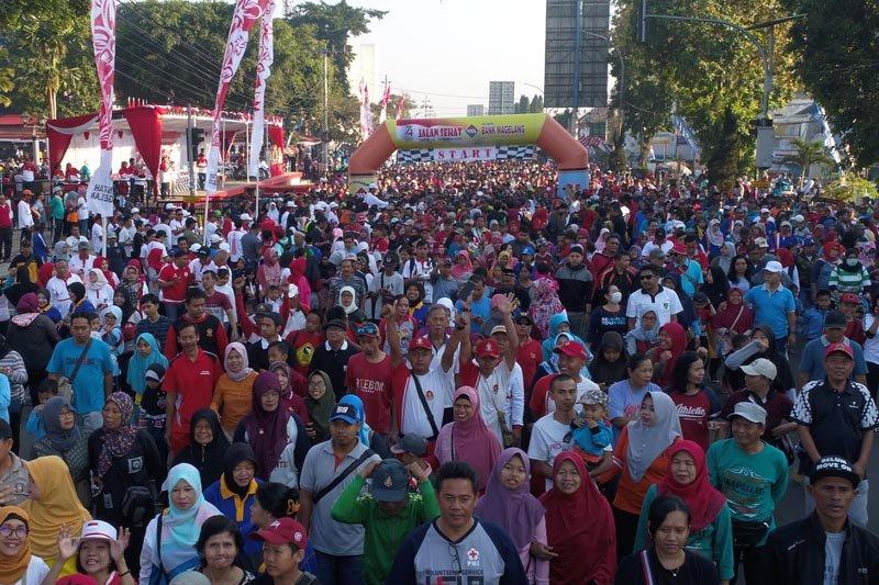 Wali kota: Jalan sehat untuk olahraga sekaligus promosi wisata