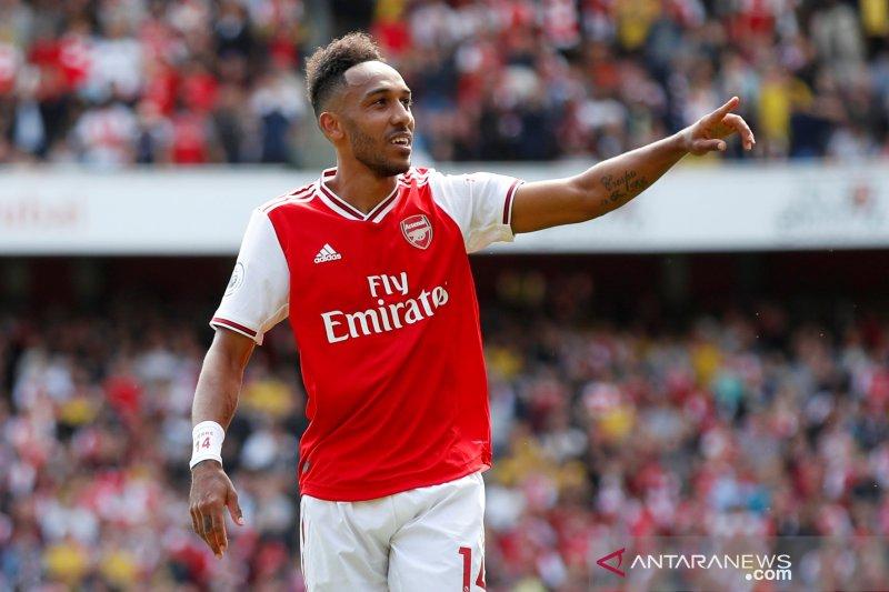 Aubameyang ingin Arsenal juara Liga Inggris