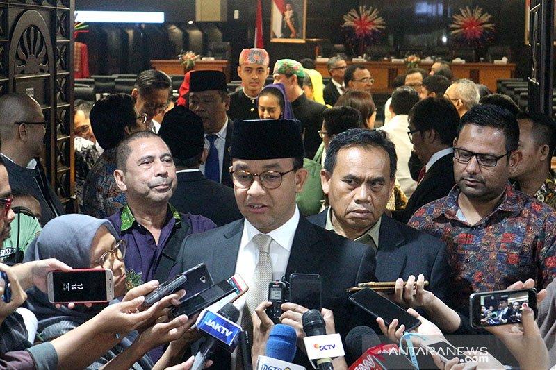 Anies jawab Jakarta masih DKI, ketika ditanya rencana setelah ibu kota pindah