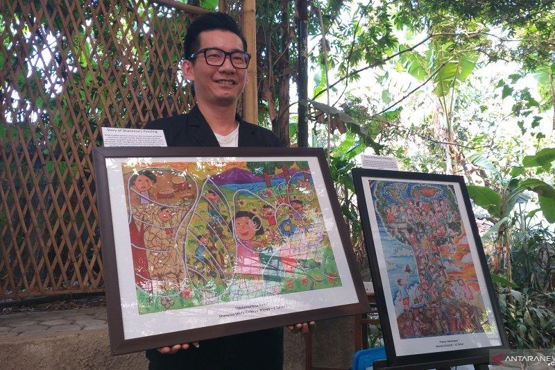 Kao Indonesia tumbuhkan cinta lingkungan dengan pameran lukisan