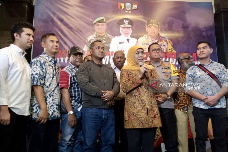 Kapolda Jatim harap cangkrukan dengan warga Papua redakan kekhawatiran