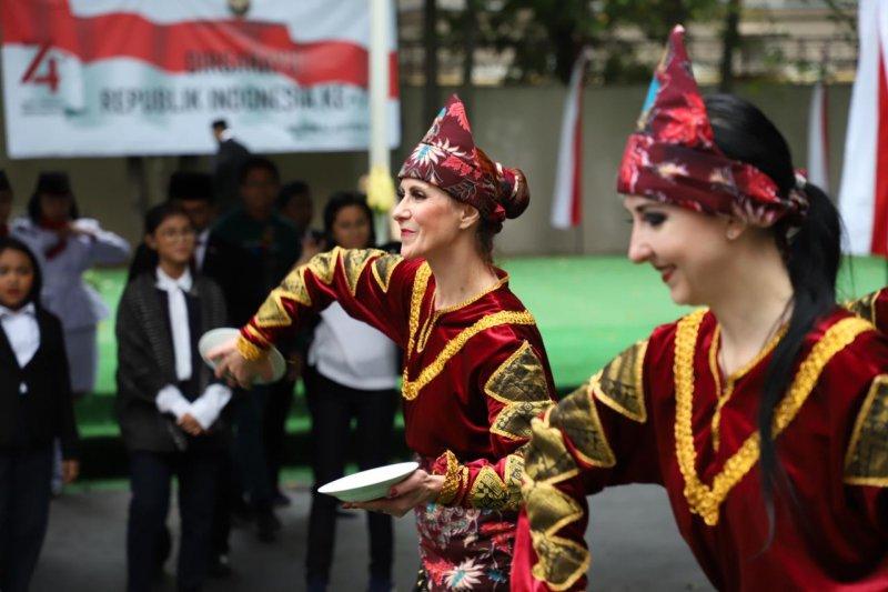 Solidaritas Bantar Gebang pada HUT Ke-74 RI di Moskow