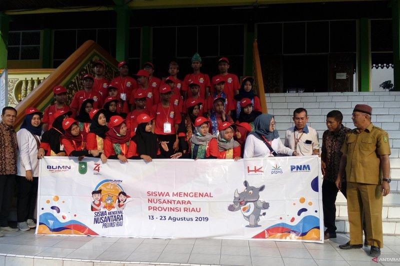 Ini kesan peserta SMN DIY saat kunjungi Museum Sang Nila Utama Pekanbaru