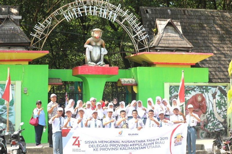 Peserta SMN Kepri kunjungi Konservasi Mangrove dan Bekantan Tarakan