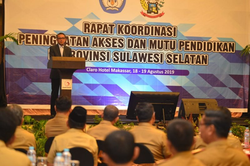 Gubernur beberkan poin tingkatkan mutu pendidikan Sulsel