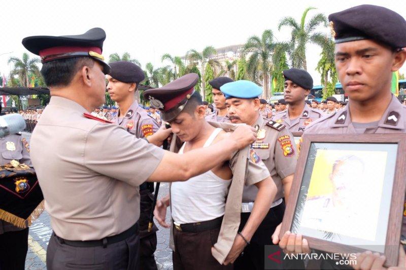 Polda Riau pecat enam personelnya, mulai narkoba hingga bolos tugas
