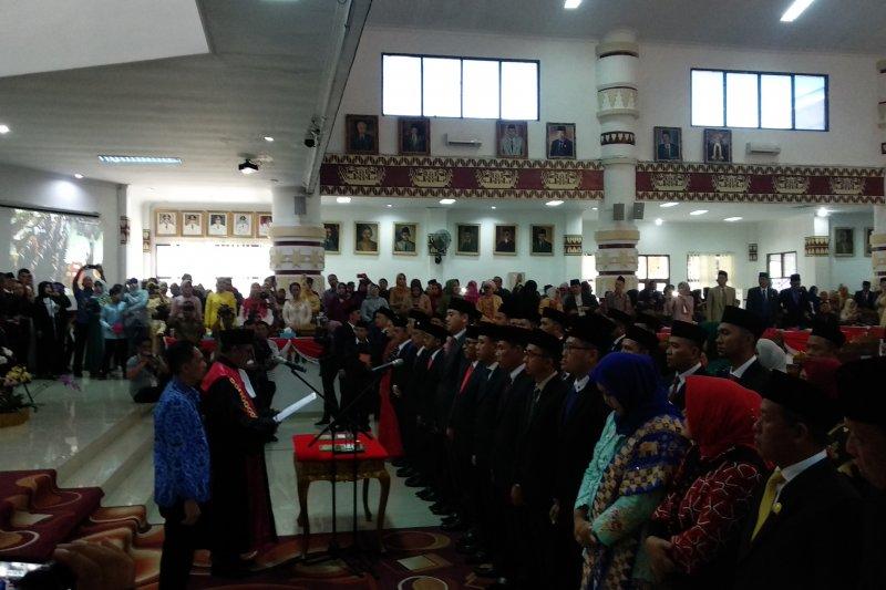 50 Anggota DPRD Kota Bandarlampung 2019-2024 dilantik