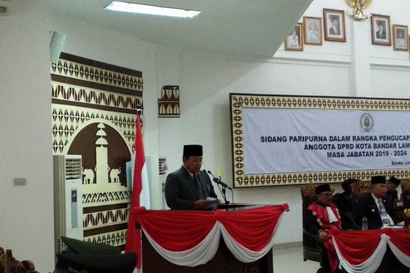 Gubernur Lampung : Legislatif dan eksekutif wajib bersinergi