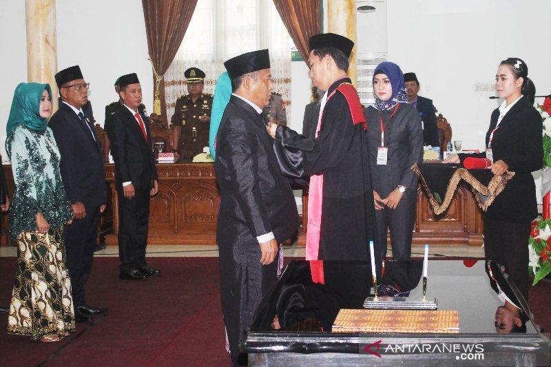 Ini harapan gubernur kepada DPRD Sukamara