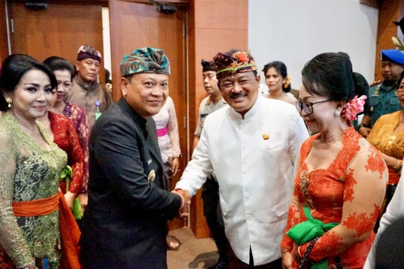 Sebanyak 45 anggota DPRD Kota Denpasar dilantik