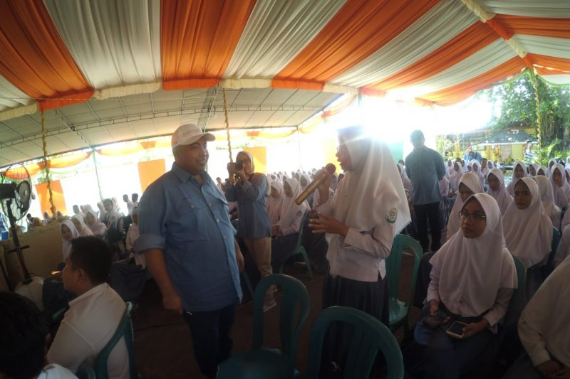 Indonesia Re edukasi pelajar Gorontalo tentang fungsi BUMN