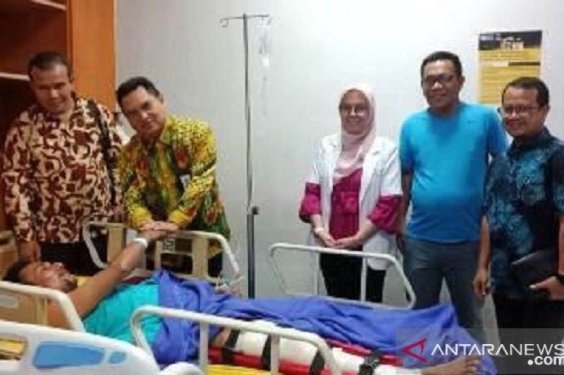 Jasa Raharja Riau jaminkan layanan berobat korban kecelakaan bus Simpati Star BL 7706 AA