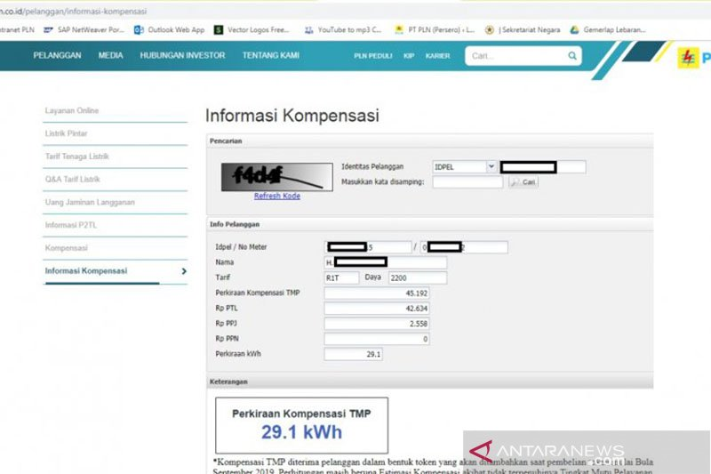Ini cara mengetahui besaran kompensasi pemadaman listrik PLN