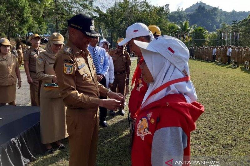 SMN Sulsel apel pagi di Pemkot Jayapura