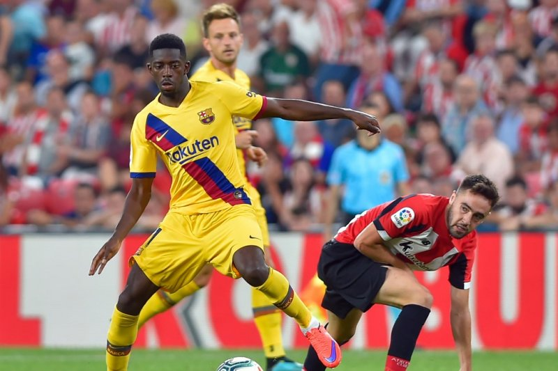 Dembele memperpanjang daftar pemain cedera Barcelona