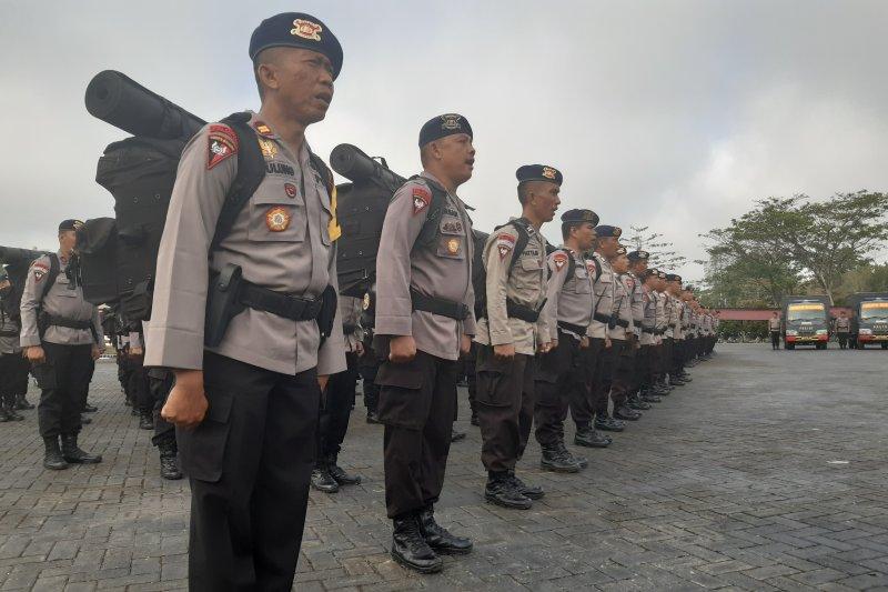 Polda Papua Barat dapat bantuan personel Brimob dari tiga polda di Sulawesi