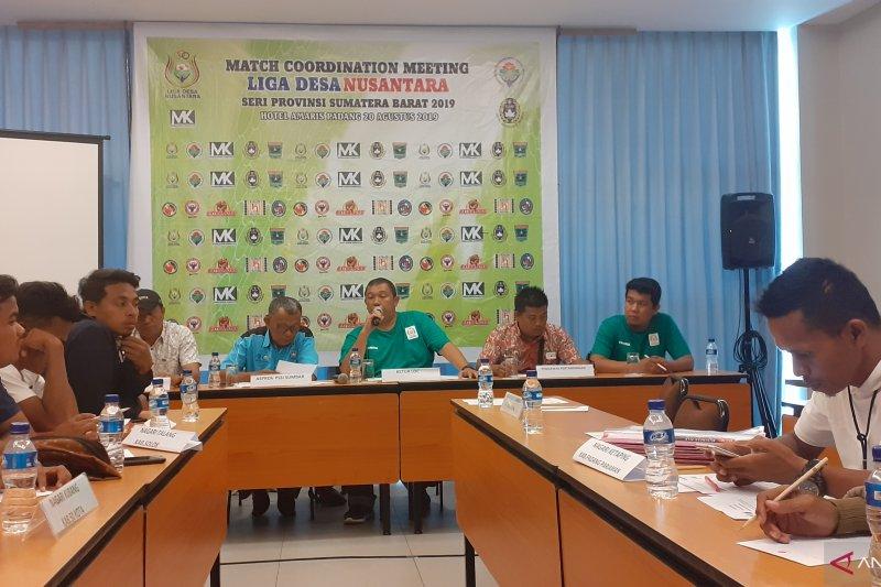 Liga Desa Nusantara 2019 seri Sumbar 2019 digelar