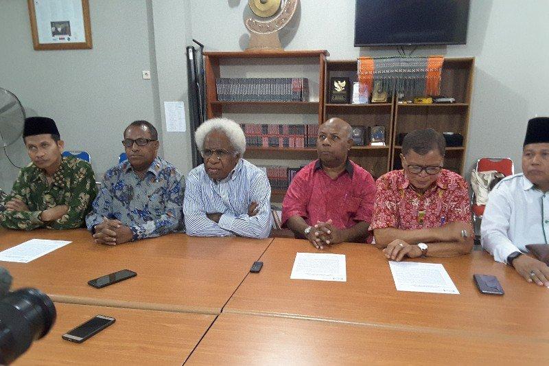 Ketua FKUB Papua prihatin pemberitaan  televisi terkait demo