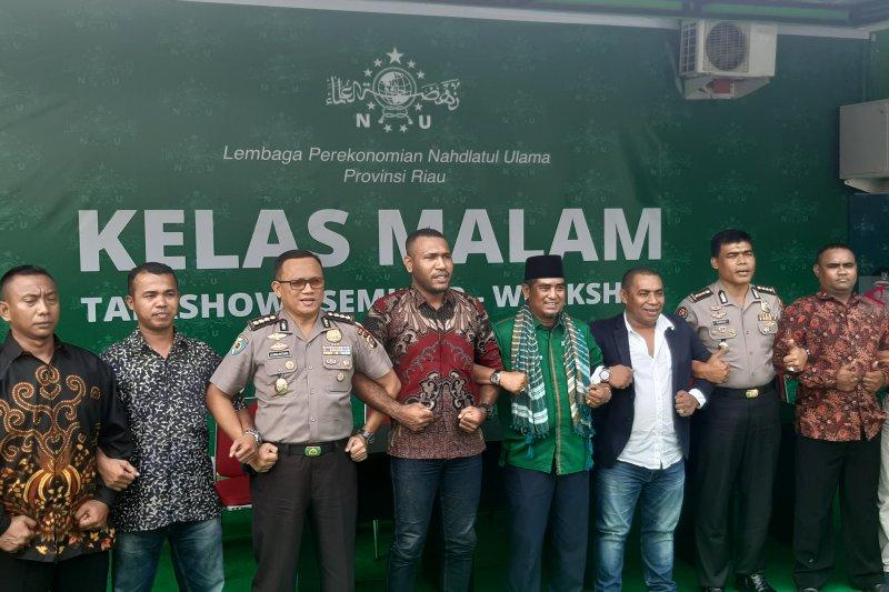 Kericuhan Papua, PWNU-Polda Riau ajak masyarakat eratkan toleransi