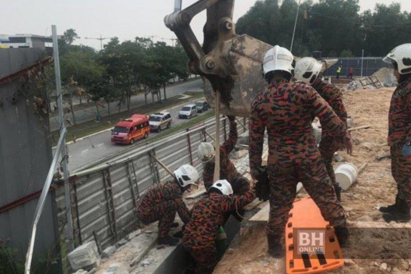 Dua pekerja WNI meninggal tertimpa dinding beton di Shah Alam