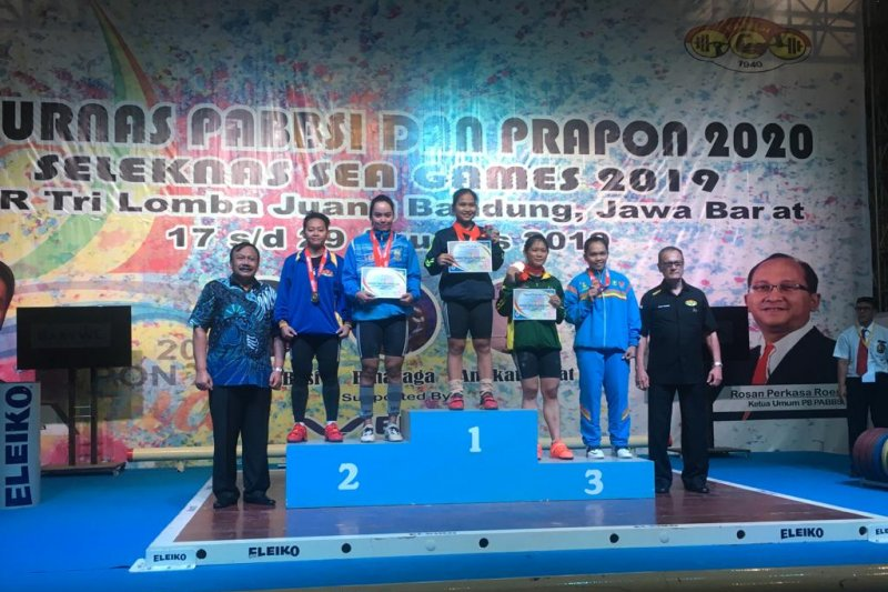 Dua lifter Jambi raih tiket PON 2020 di Papua
