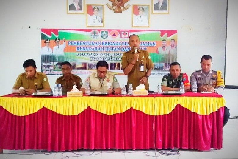 BPBD Kotim bentuk Brigade Pengendalian Karhutla kecamatan