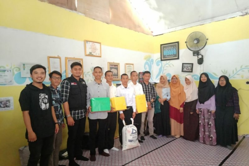 ACT Lampung salurkan bantuan dari GSM Unila ke masyarakat