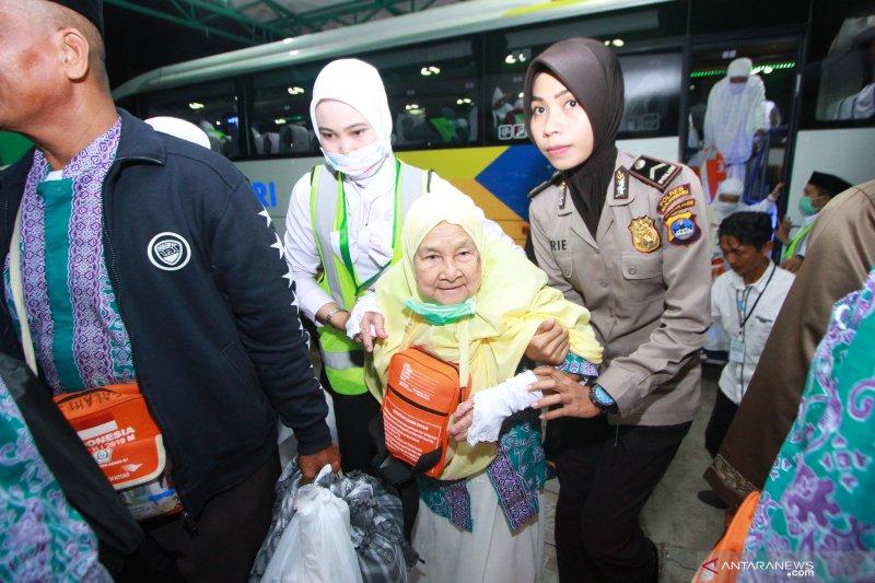 Enam kloter yang belum kembali ke Debarkasi Banjarmasin