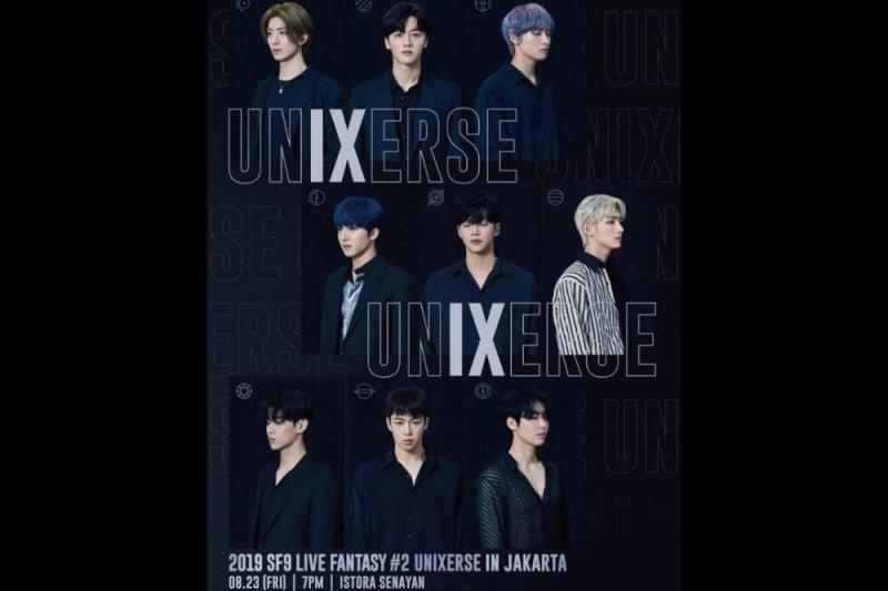 SF9 batal gelar konser di  Jakarta 23 Agustus
