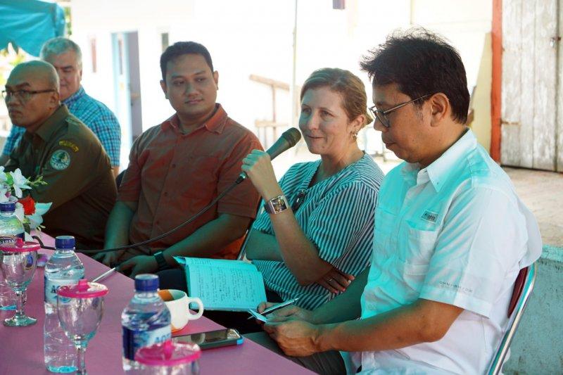 Tim USAID tinjau perkembangan APIK Pulau Haruku