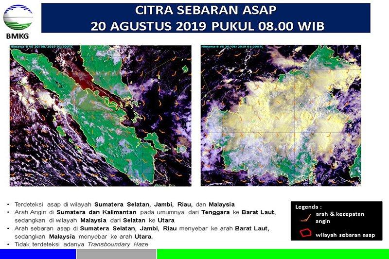 Pekanbaru berselimut asap Karhutla di Riau dan kiriman Sumsel