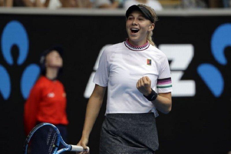 Amanda Anisimova mundur dari US Open karena ayah meninggal