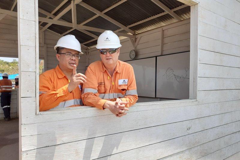Tambang Martabe targetkan produksi 400.000 oz emas