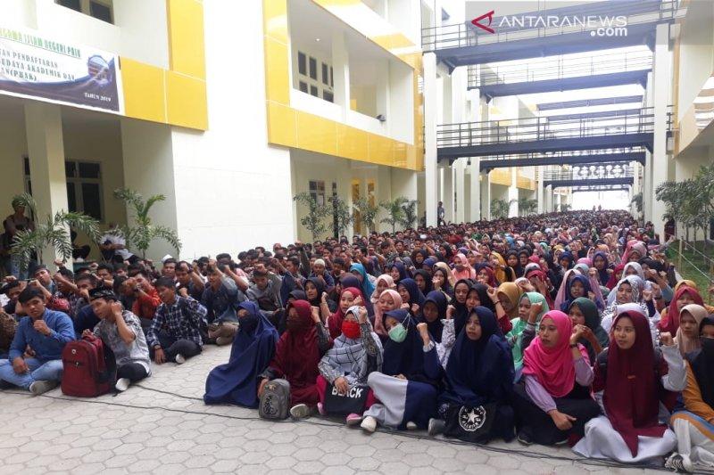 1.530 mahasiswa baru IAIN Palu ikut pengarahan sebelum PBAK