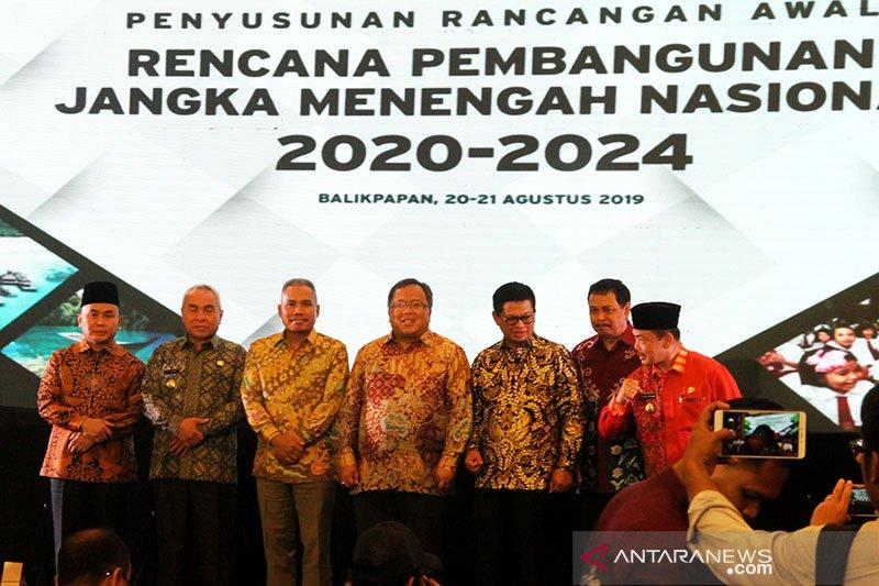 Gubernur se-Kalimantan berkumpul di Balikpapan bahas RPJMN