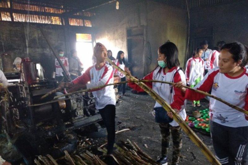 Peserta SMN NTT kunjungi objek wisata di Kerinci