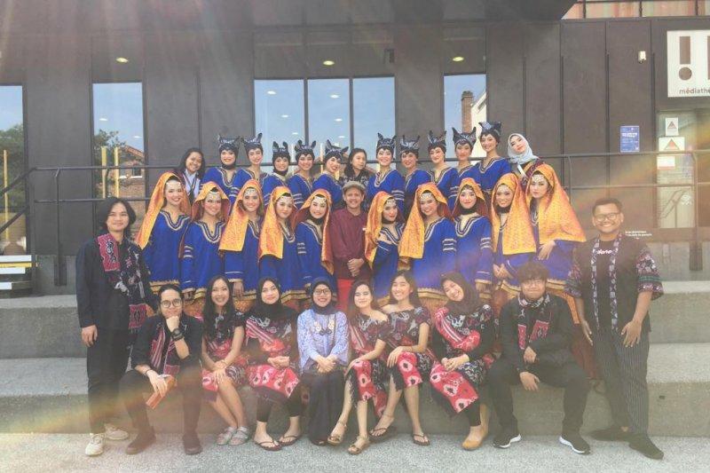 Mahasiswa UI juarai kompetisi tari dan musik di Prancis dan Italia