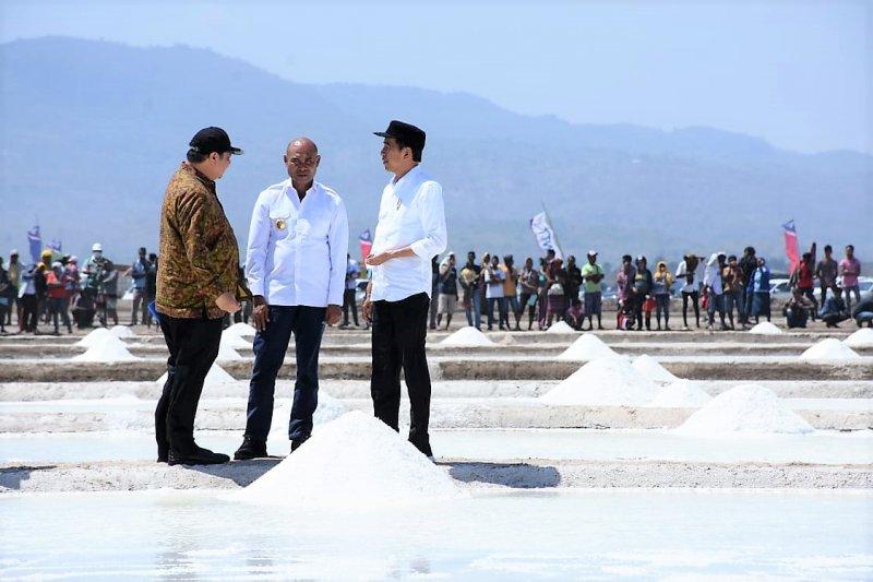 Keabsahan lahan hambat pengembangan garam di NTT