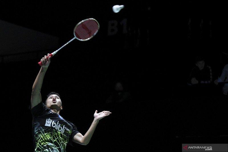 Ginting kembali lawan Momota di final China Open