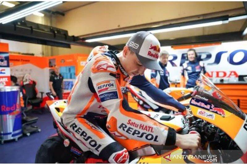 Pulih cedera, Lorenzo segera kembali ke garasi Repsol
