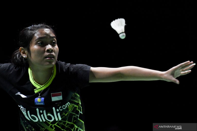 Gregoria gagal melanju babak dua China Open 2019
