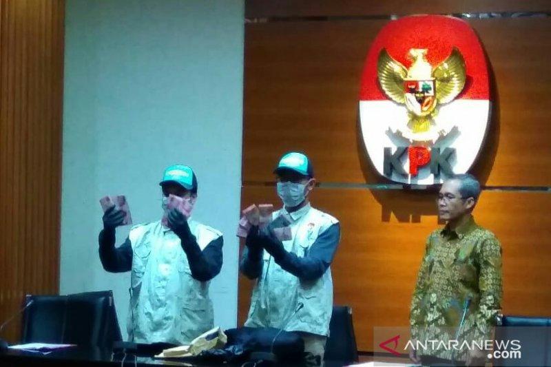 Dua tersangka suap lelang proyek Dinas PUPKP Yogyakarta ditahan