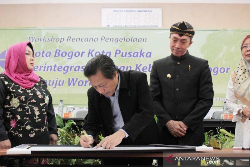 Warga Bogor deklarasi bersama dukung Kebun Raya jadi situs warisan dunia