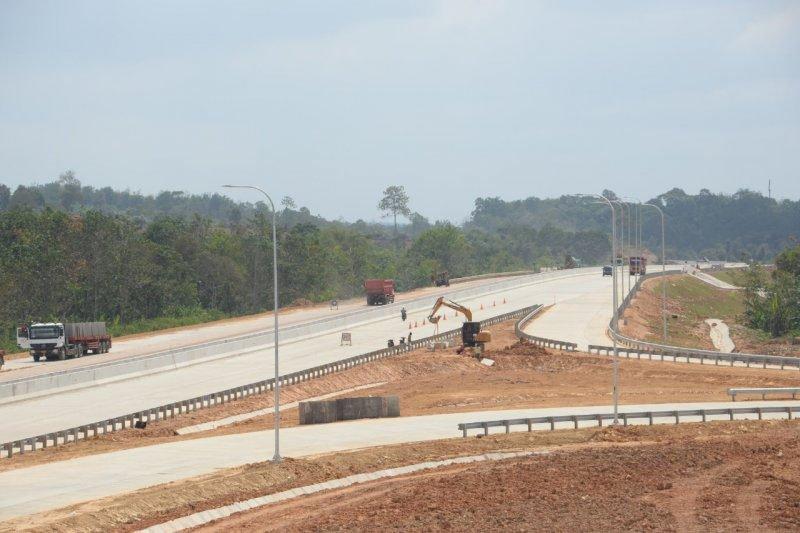 Jalan tol Balikpapan-Samarinda ditargetkan beroperasi akhir tahun ini