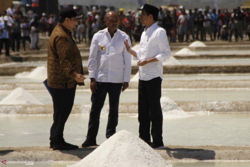 Jokowi : Potensi garam NTT capai 21 ribu hektare